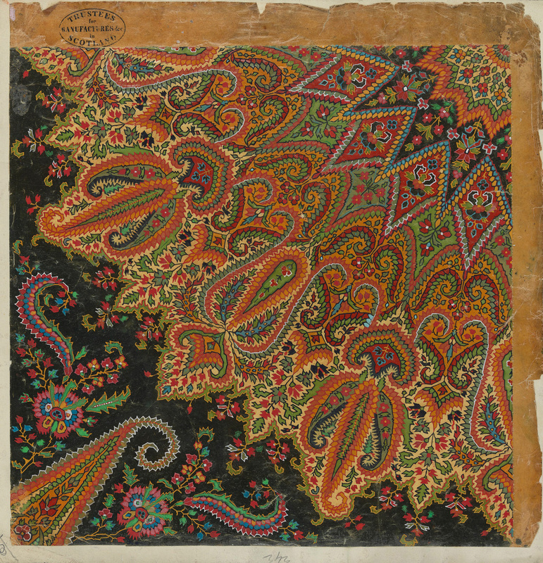 Design for a Paisley Shawl, ca.1839